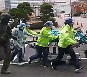 귀순 북한병사, 피격 일주일 만에 '자가호흡'