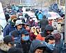 성주 사드기지 공사차량 반입 저지…주민-경찰 대치