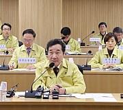 AI방역 철저 주문하는 이낙연 총리