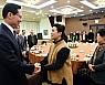 송영무 장관, 제2연평해전 유가족 오찬