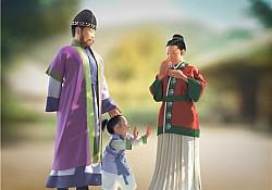 1천500년 전 마한시대 가족 모습은