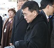 북측 대표단 최강일 북한 외무성 부국장 추정인물