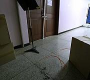 굳게 닫힌 총장실 문