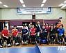 싱가포르 장애인탁구팀 광주서 합동훈련