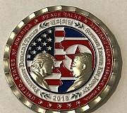 북미정상회담 취소에 백악관 기념 주화 할인 판매