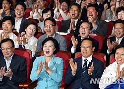 방송3사 출구조사, 민주 14·한국2·무소속 1