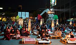 문화전당 앞마당서 마술쇼, 어쿠스틱 콘서트