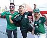 멕시코전, 광적인 응원과도 싸운다…한국관중보다 10배 이상↑