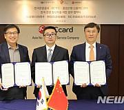 한국관광공사, BC카드-중국 흥업은행 MOU