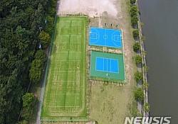 광양 서천체육공원, 3억 5000 들여 새단장