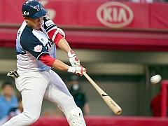 안치홍, 홈런으로 500타점 달성