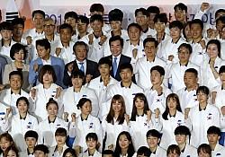 D-3 자카르타 AG, 광주·전남 임원 선수들 종합2위 '선봉'