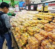 농림수산품 생산자물가 급등, 밥상물가 어쩌나