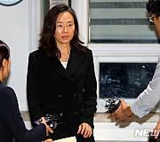 구속만기 조윤선 전 장관 취재진 앞으로