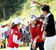 김아림, 박세리 인비테이셔널 우승…데뷔 첫 승