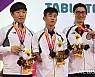 장애인탁구 첫 남북 단일팀, 값진 은메달