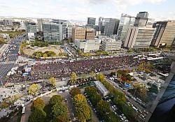 카풀 반대 집회 광주·전남 택시 일부 참여…