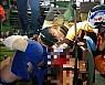 인천 남동공단서 40대 근로자 기계에 팔 끼어 부상