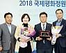 함평군 올해의 정원관광상품상 수상
