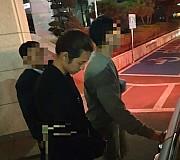 <고침> 정준영, 9시간 조사 받아…휴대폰서 증거인멸 정황