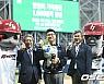 KBO 1000경기 달성 한인희 기록위원 기념 시상식