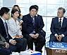文대통령 만난 바이오 기업인들