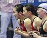 [광주세계수영]여자 계영 400m, 대회 첫 한국 신기록