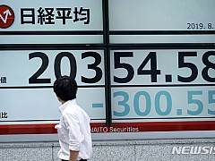 글로벌 경기침체 우려에 亞주요증시 하락···中은 상승