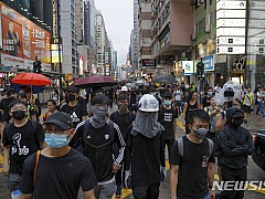 홍콩서 反中 주말시위 앞두고 친정부-반정부 동시집회
