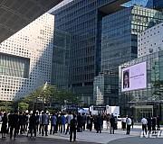 MBC사옥 앞에서 열린 故 이용마 기자 영결식