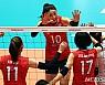한국 여자배구, 월드컵서 중국에 완패