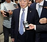 나경원 원내대표 만남 거부당한 김오수 법무부차관