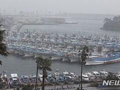 광주·전남 태풍 '타파' 영향권···여객선 전면 통제
