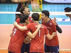 한국 남자배구, 일본에 패해 아시아선수권 4위로 마감