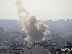 이스라엘 공습에 지하드 사령관 사망···로켓포공격 보복(종합)