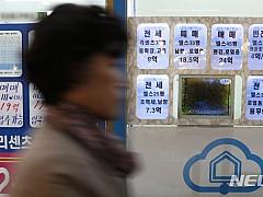 '들썩대는 집값' 주택담보대출 4.9조 급증···올들어 최대