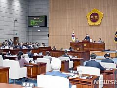 광주시의회 예결위 내년 예산안 5조7124억원 확정